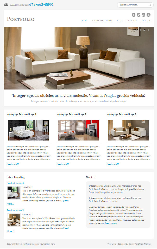 Furniture-WordPress-theme