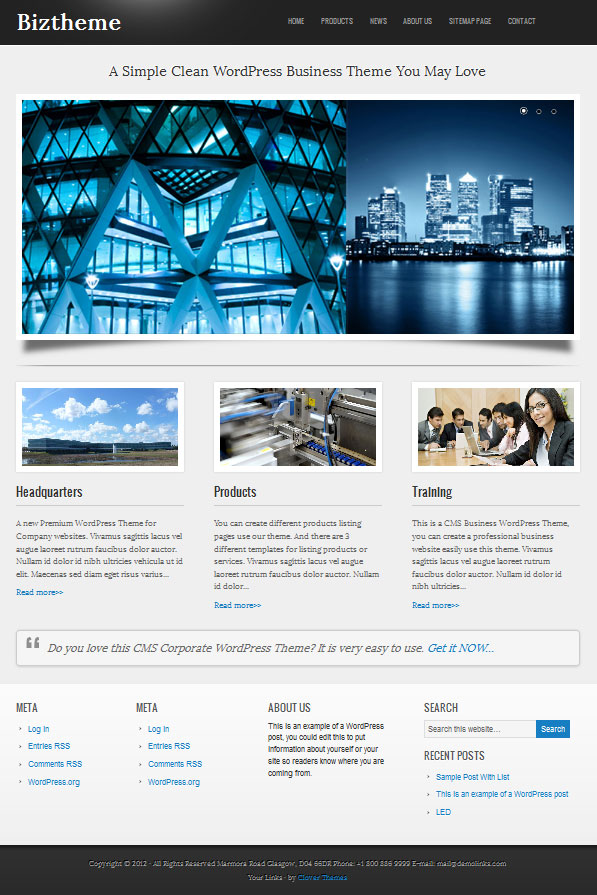 biztheme-wordpress-business-theme