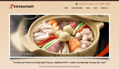 picture of premium wordpress theme coRestaurant