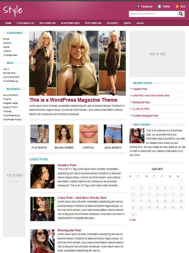Fashion-Beauty-WordPress-Magazine-Theme