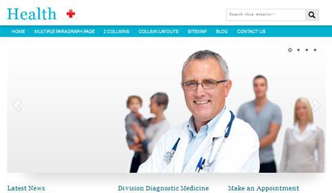 picture of premium wordpress theme Health